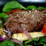 1097232 beef steak with vegetables  150x150 Muscle Growth, Preservation, Insulin & Leucine