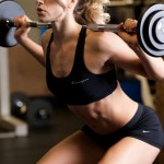 fit woman squatting 150x150 Two favourite foods that are killing us!!!